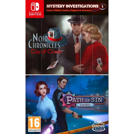 Mystery Investigations 1 : Noir Chronicles - City of Crimes  Path of Sin - Greed